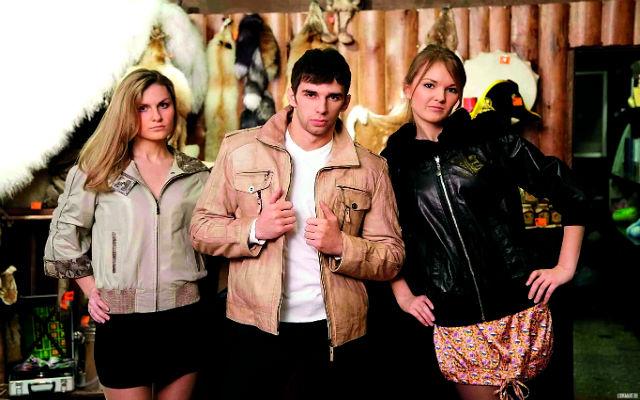 куртки с укороченными рукавами